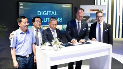 Oppein chooses partner for its Industry 4.0 strategy implementation