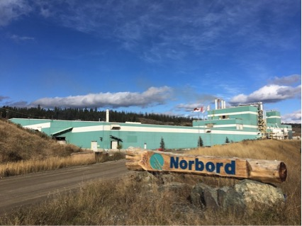 Norbord will curtail OSB production at its British Columbia Plant