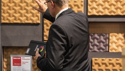 Sonae Arauco wins an Interzum Award with three-dimensional fiberboard