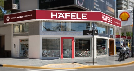 Häfele opens its first own showroom in Buenos Aires