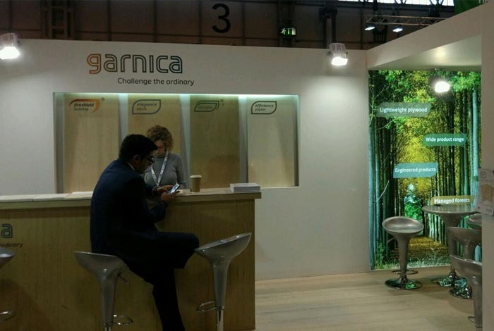 Garnica participates in Tecnomueble and reaffirms its international