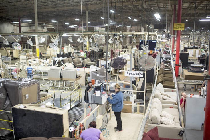 Ashley Furniture Will Boast The World S Largest Upholstery Producing